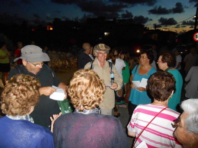 Arribada a Sant Jordi Jubilats per Mallorca 1 10 2012