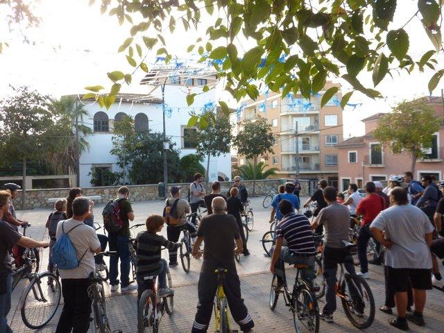 Foto diada ciclocultural 2 27 d'octubre 2012