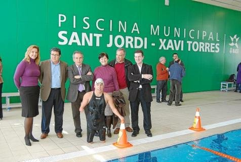 Inauguració Piscina de Sant Jordi