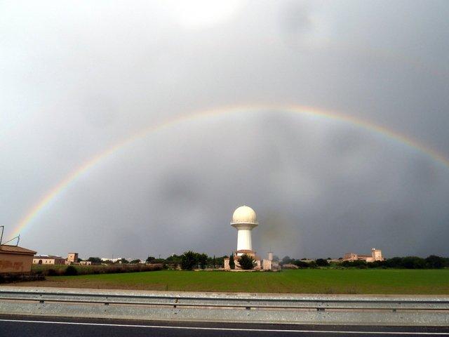 Arc Sant Martí Radar de Son Oms. Joan Taberner