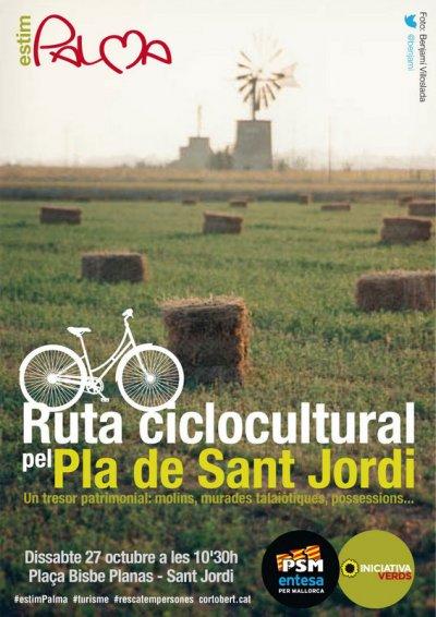Cartell Ruta Ciclocultural 27 d'octubre 2012